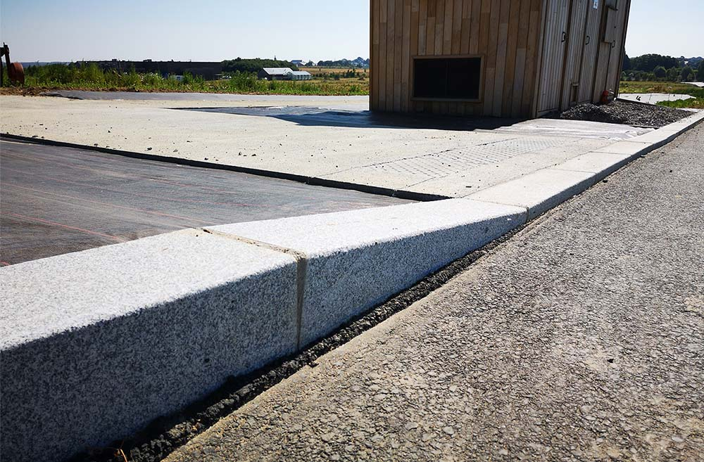 réalisation stones partner bordure granit