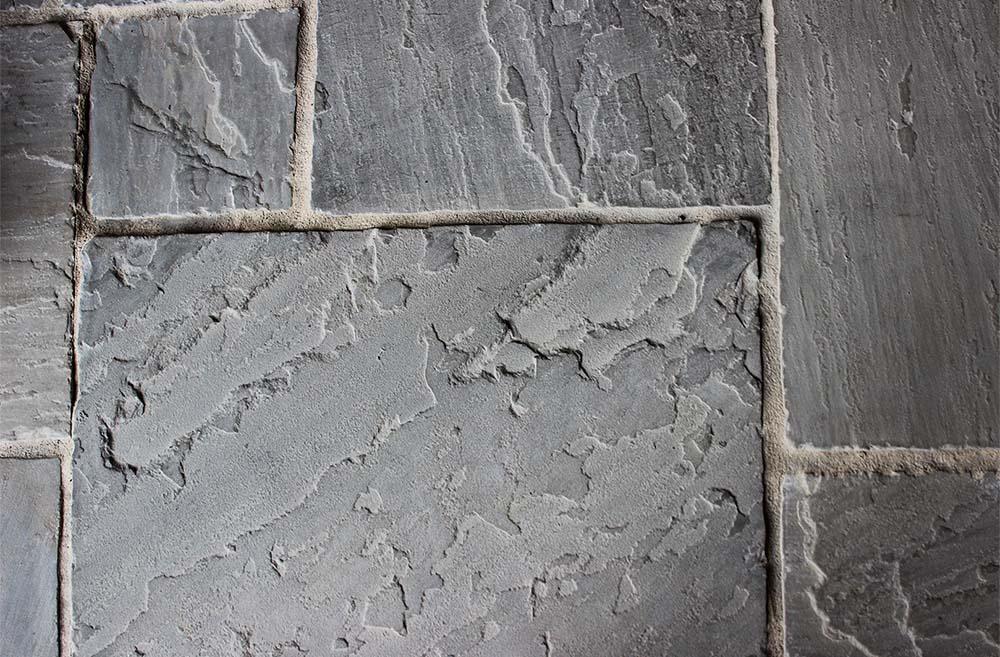 dallage grès gris stones partner