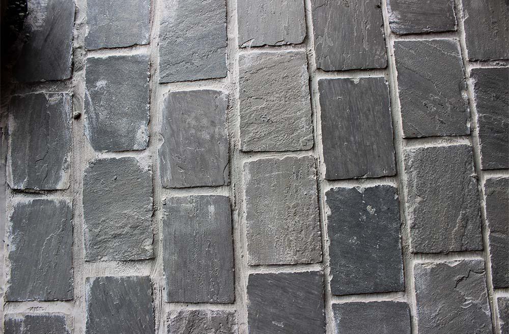 pavés grès gris stones partner