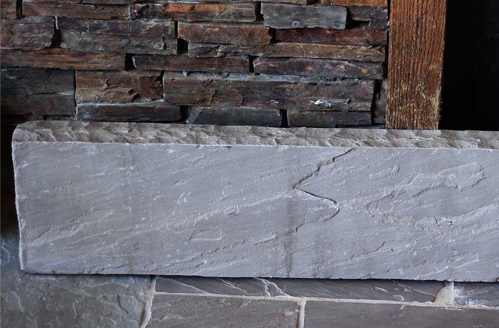 réalisation stones partner bordure grès gris