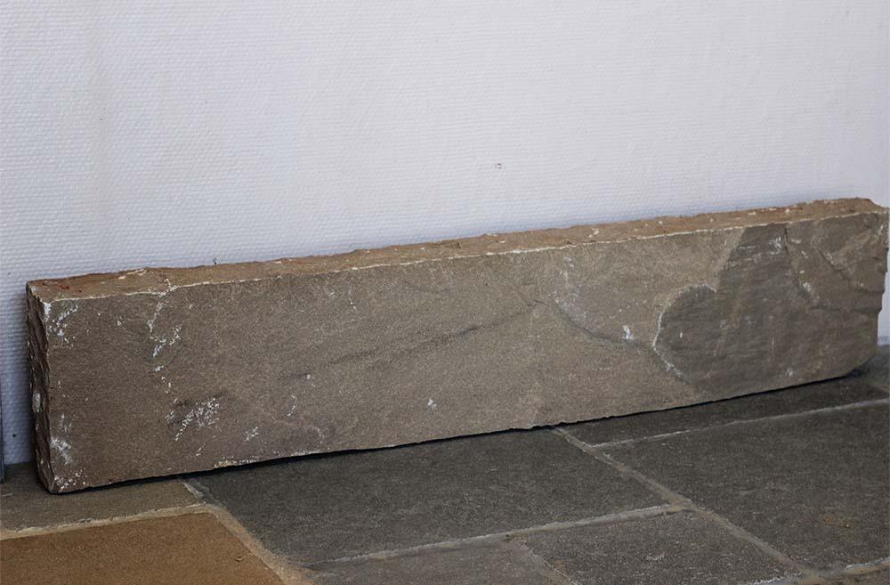 réalisation stones partner bordure grès multicolores