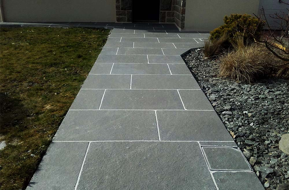 réalisation stones partner dallage tandur blue