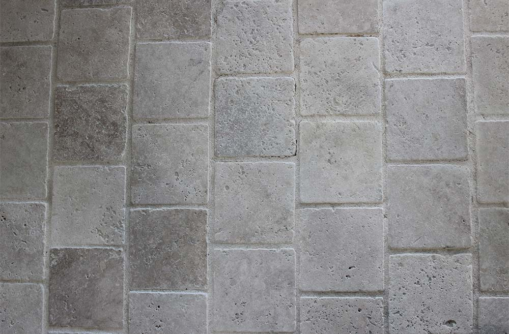 réalisation stones partner pavé travertin